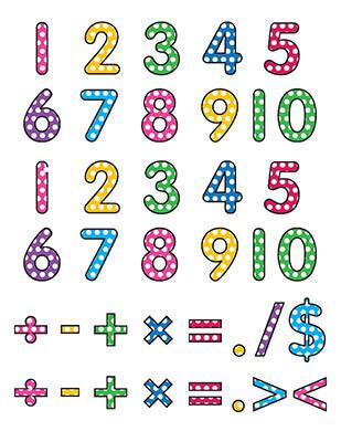 Numerals Template