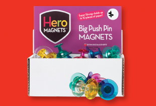 Big Push Pin Magnets