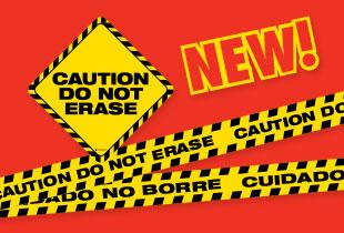 Caution Do Not Erase Magnet Set