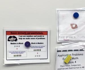 735015 735014 735017 MC15 710D Hero magnets on board in school