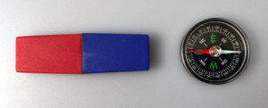 magnet and compass