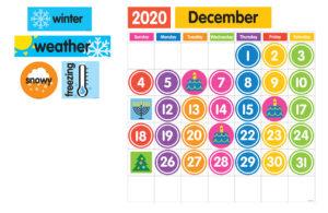 Calendar Grid Layout 3