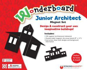 junior architect wonderboard magnet set