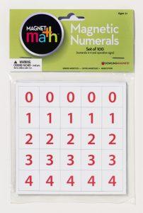magnetic numerals