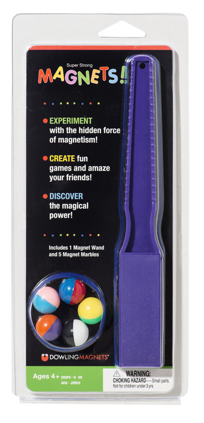 Magnet Wand & 5 Magnet Marbles