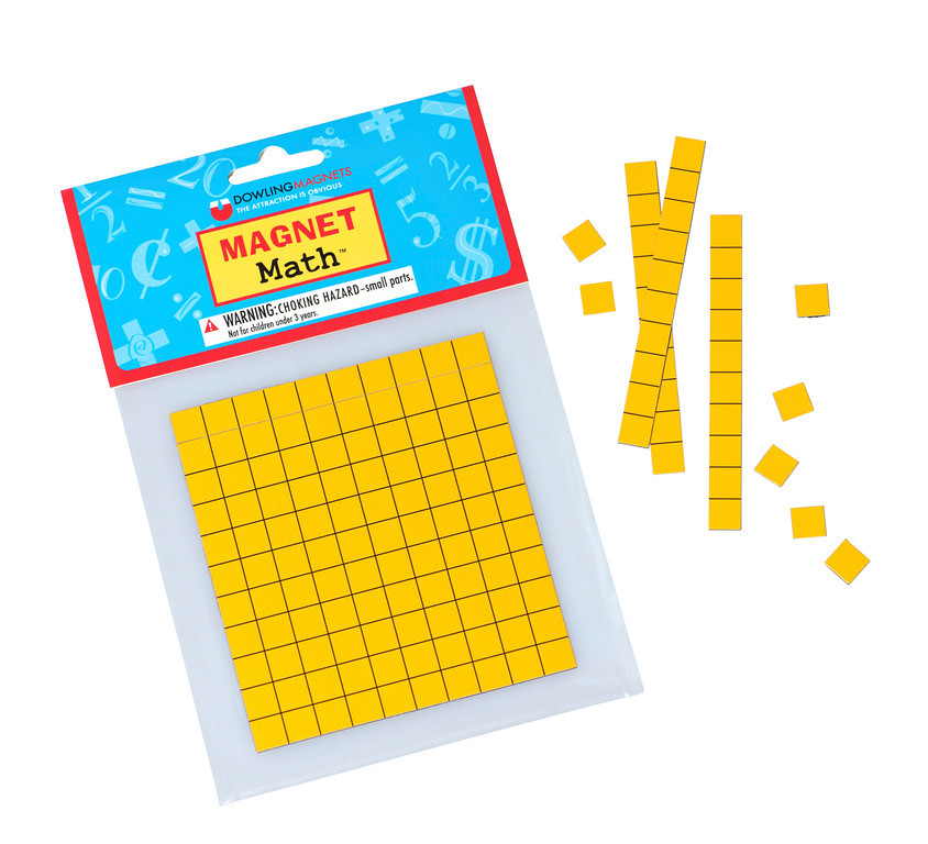 Magnetic Base Ten, Set of 62