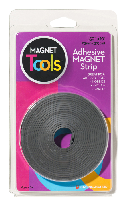 Adhesive Magnet Strip (.50