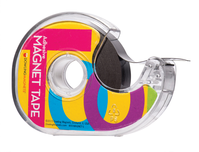 Magnet Tape in Dispenser