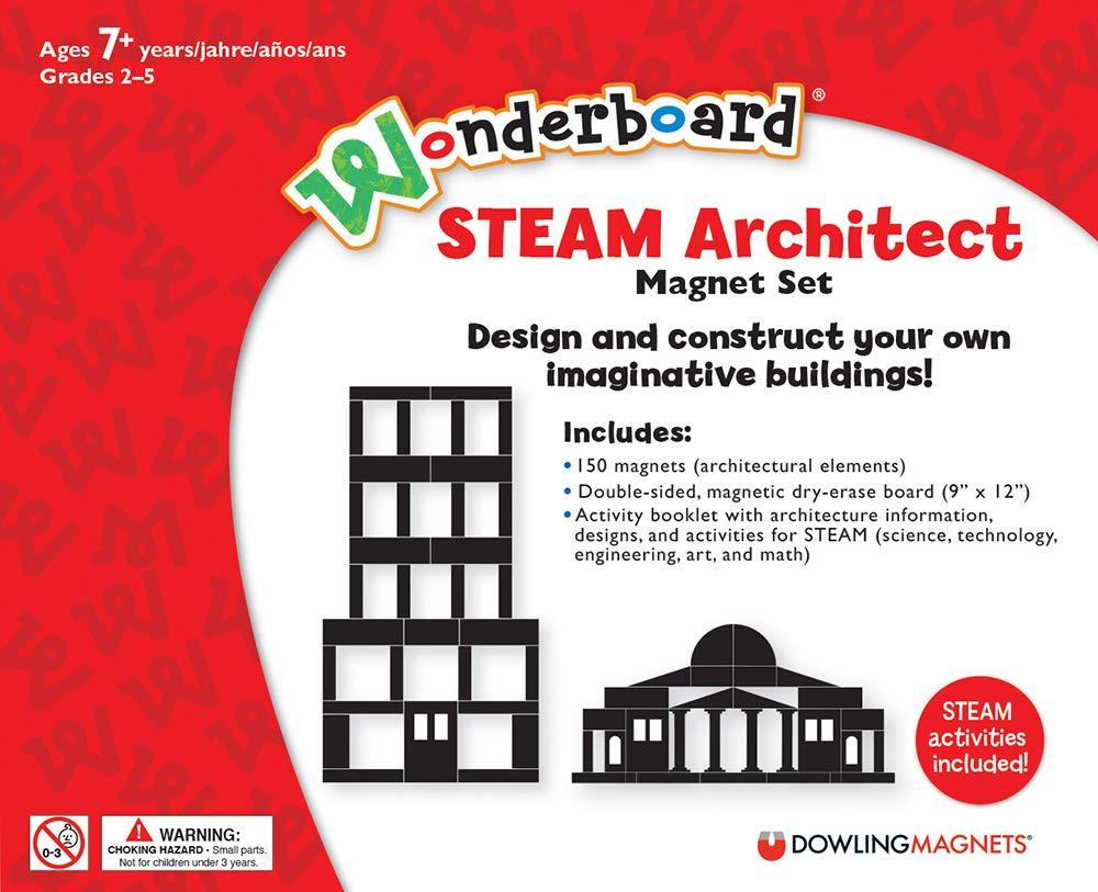 Wonderboard STEAM Architect Magnet Set