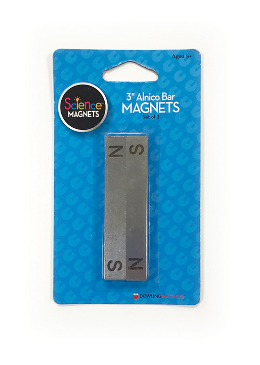 Alnico Bar Magnets (3