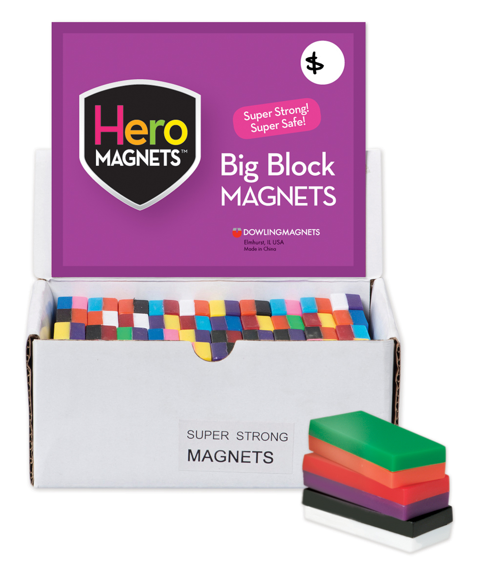 Box of 40 Block Magnets