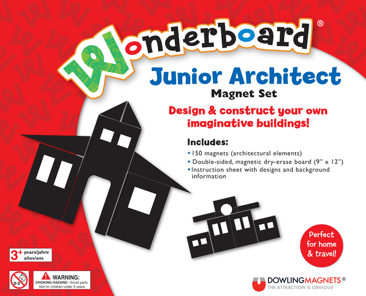 Wonderboard Junior Architect Magnet Set
